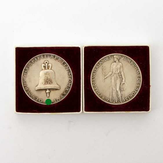 German Reich 1933-1945 - 2 official commemorative medals - photo 1