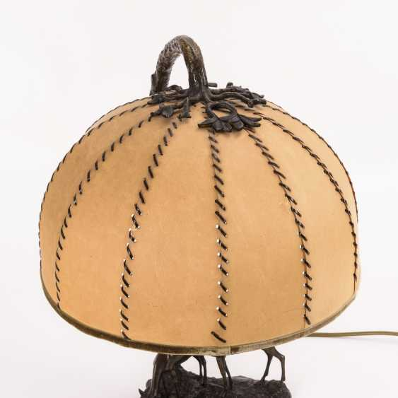 Table lamp with deer group - photo 4