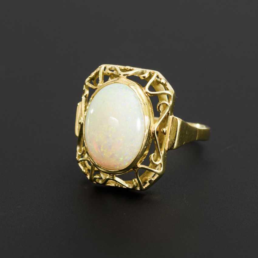 Ring mit Opal - Foto 1