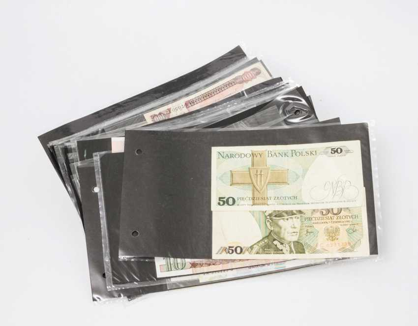 Pack / Modern Bank notes - about 60 pieces, All over the world, - photo 1