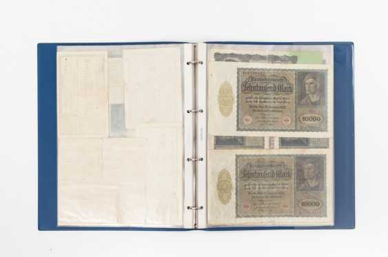 Album of Bank notes 1.H. 20. Century. - a lot of Imperial time and inflation money, such as - photo 1