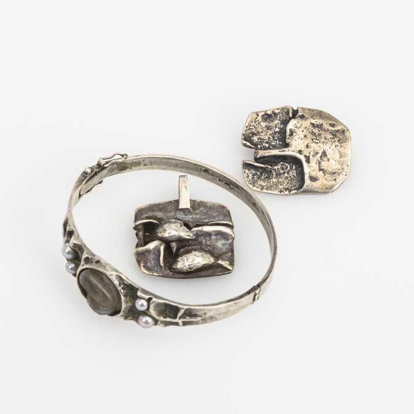 3 pieces of designer jewelry - photo 1