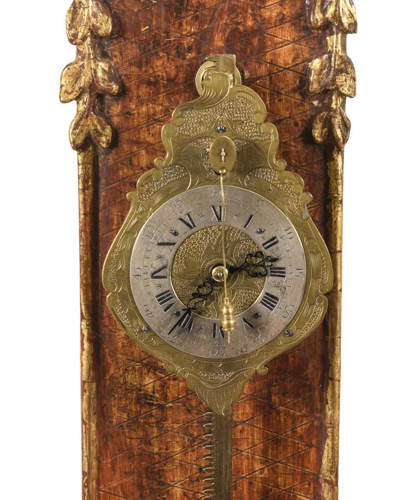 Rococo saw clock - photo 2