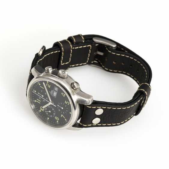 Automatic men's wristwatch with chronograph - photo 2