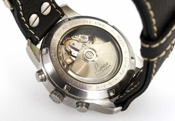 Automatic men's wristwatch with chronograph - photo 3