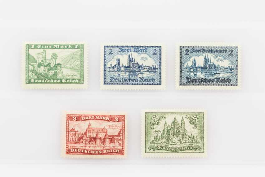 German Empire - free brands, buildings, 1924, 1 M - 5 M post office fresh, - photo 1