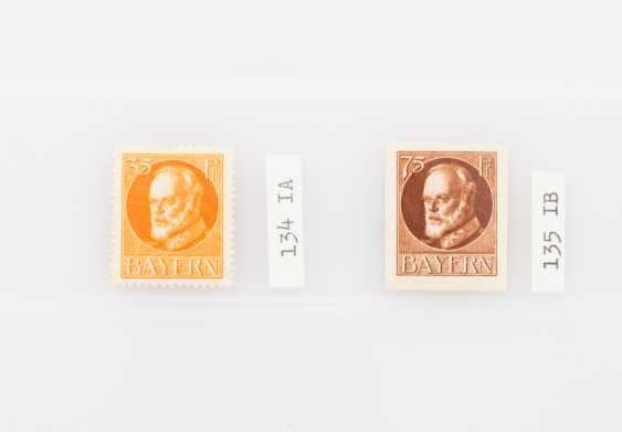 German States - Bavaria, king Ludwig III, not printed, not issued stamps in 1919 /1920, - photo 1