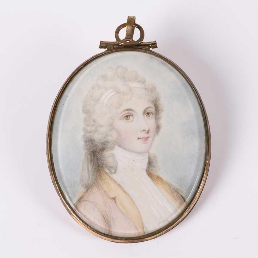 Miniature portrait of a lady - photo 1
