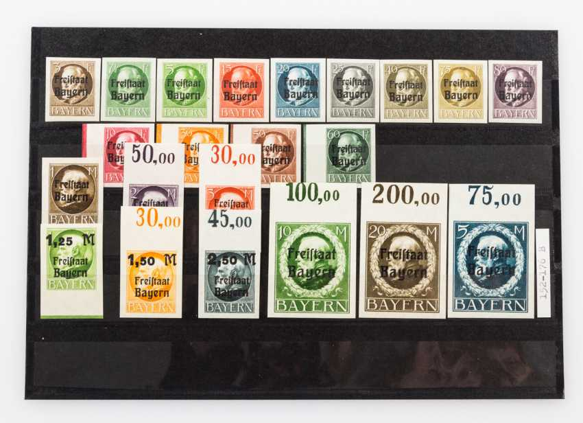 German States - Bavaria, approximately 95 mint stamps from about 1900, - photo 4