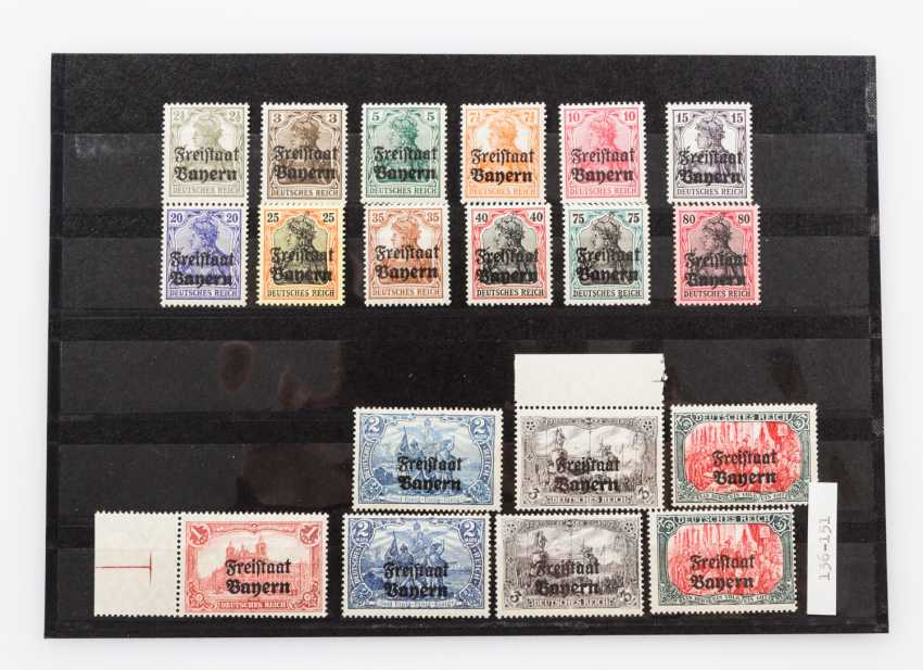 German States - Bavaria, approximately 95 mint stamps from about 1900, - photo 5