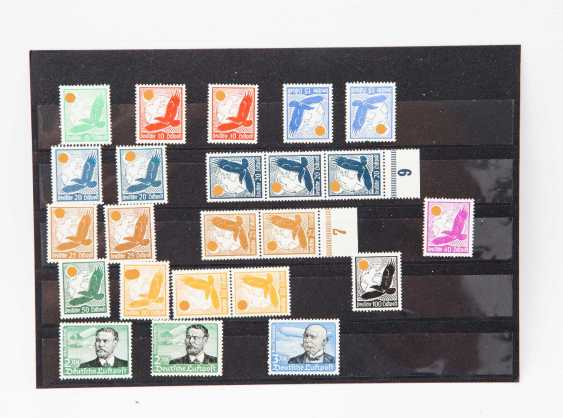 German Reich - collection from flight post brands, Golden eagle, - photo 1