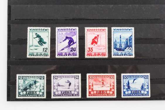 Austria - 1933 /1936, 2 post, fresh sets FIS-competitions, - photo 1
