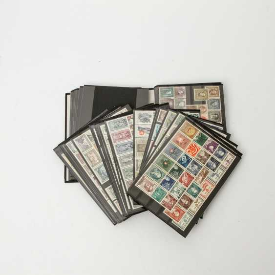 Austria - 1922, post office fresh stock of over 40 plug-in cards, - photo 1