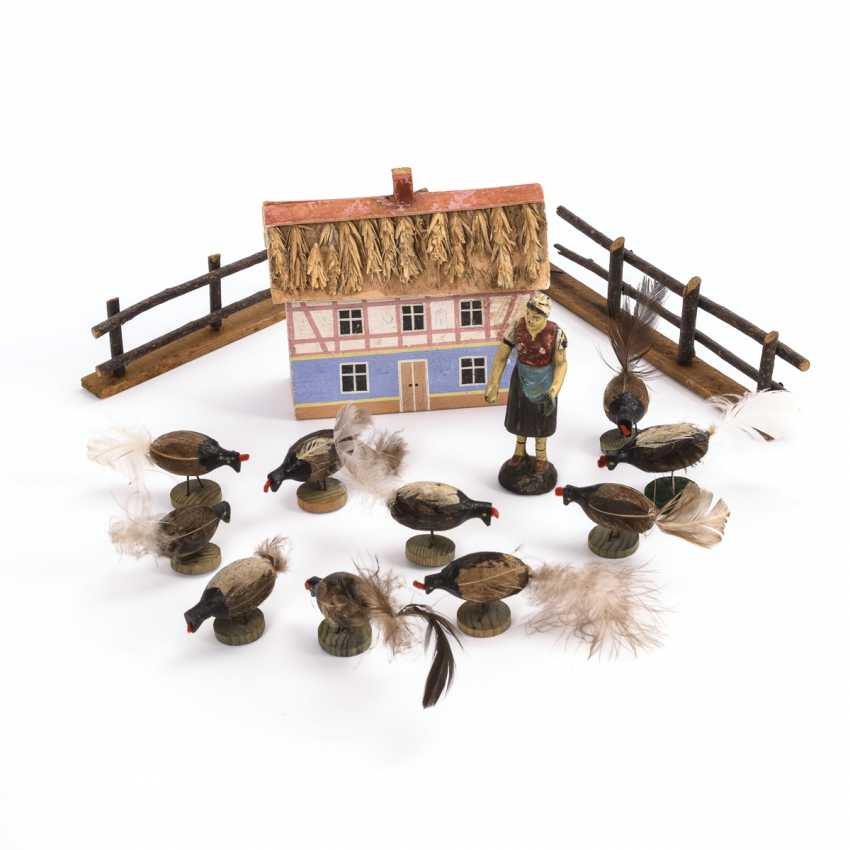 Small poultry farm with poultry - photo 1