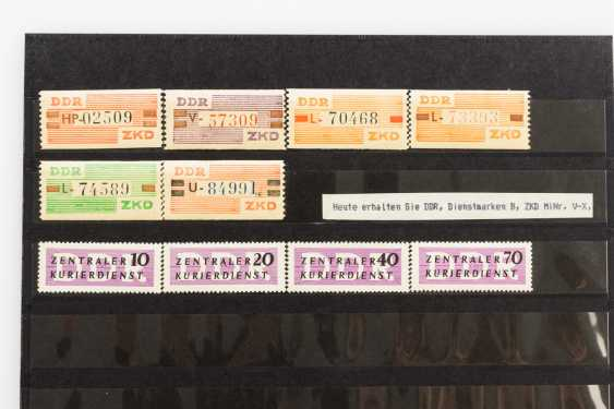 DDR - 1960 /65, CHG, and against delivery certificate, - photo 2