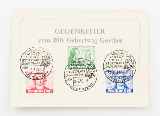 Berlin - 1949, collector letter with UPU issue - photo 3