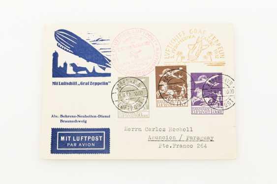 Denmark / Zeppelin - 1932, 3. South America travel, - photo 1