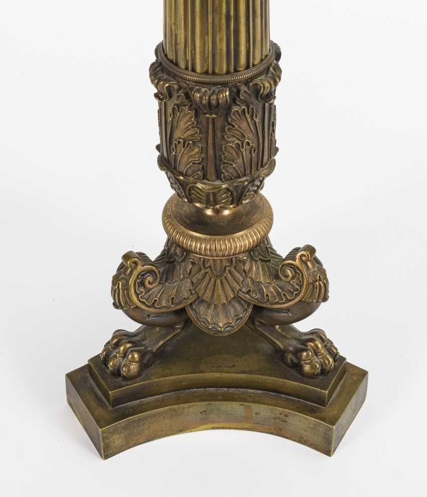 Large Empire style salon table lamp - photo 2