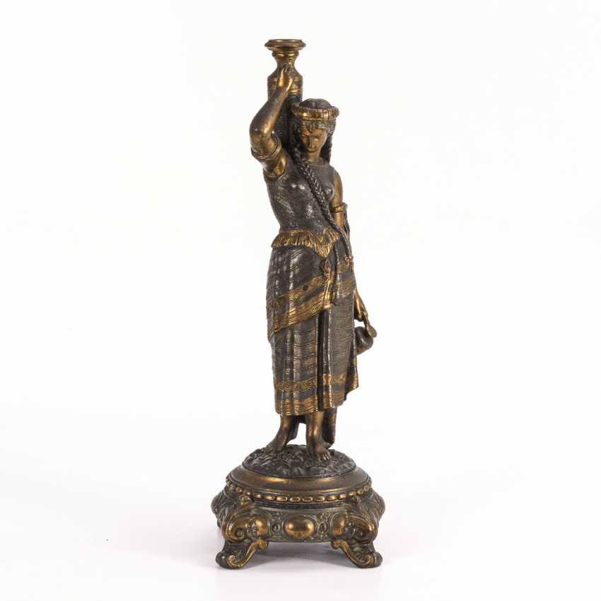 Lamp base with southern woman - photo 1