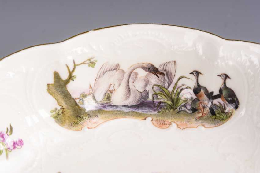 Baroque bowl with poultry painting - photo 3