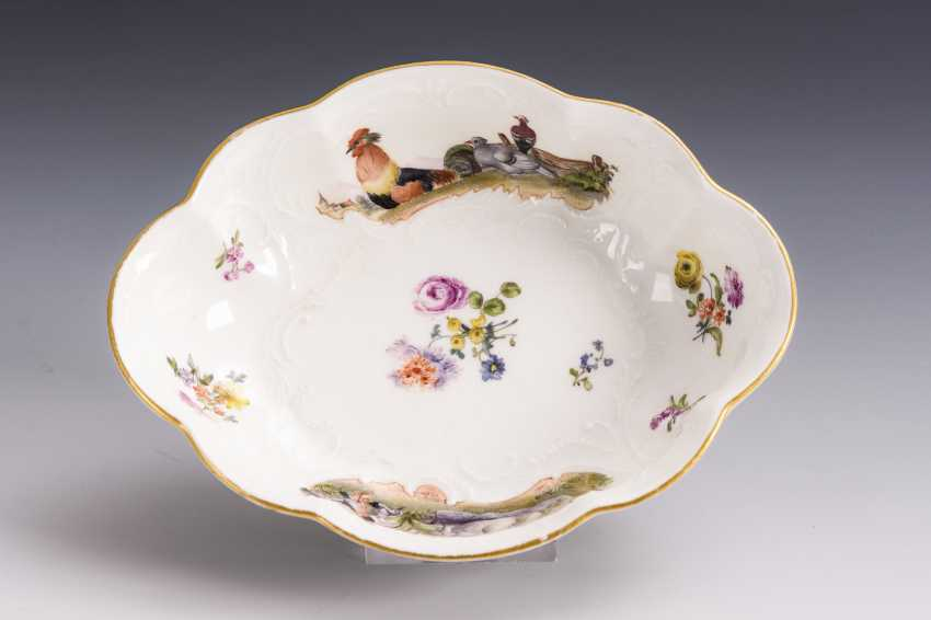 Baroque bowl with poultry painting - photo 5