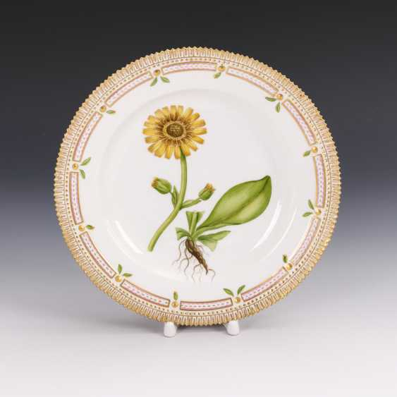 """Flora Danica"" dinner plate - photo 1"