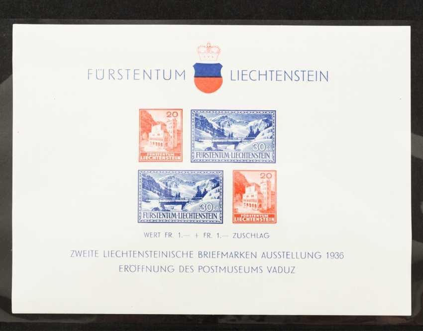 Liechtenstein - 1936 /80, with service expenditure, - photo 2