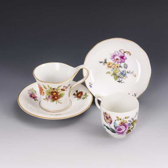 2 cups with flower painting - photo 1