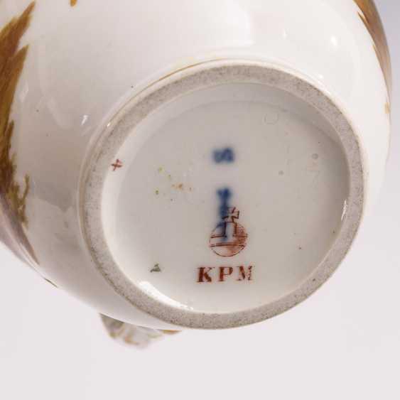 Pot with cotton wool painting - photo 3