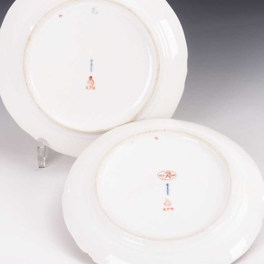 2 plates with soft painting - photo 2