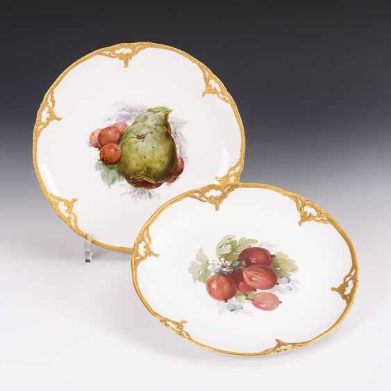 2 plates with soft painting - photo 1