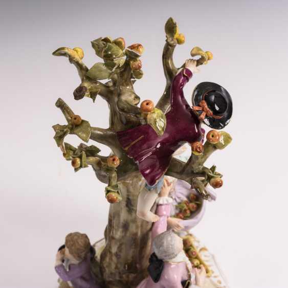 Gardeners group on the tree - photo 4