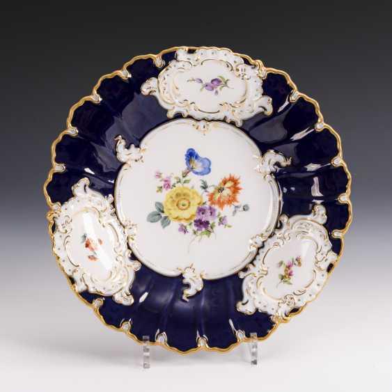 Splendid plate with cobalt stock - photo 1