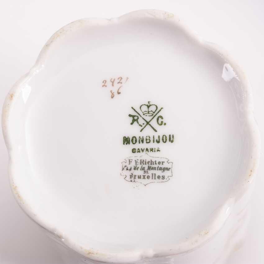 """Umfangreiches Kaffeeservice """"Monbijou"""" - photo 4"""
