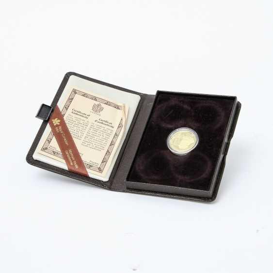 Kanada /GOLD - 100 Dollars 1984, Jacques Cartier, - photo 3