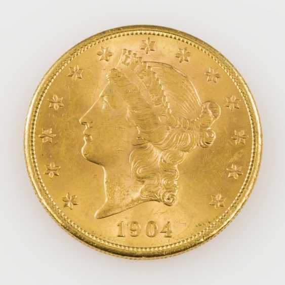 USA /GOLD - 20 Dollars 1904 S, - photo 1