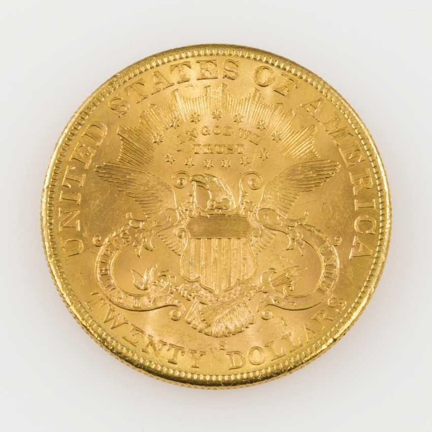 USA /GOLD - 20 Dollars 1904 S, - photo 2