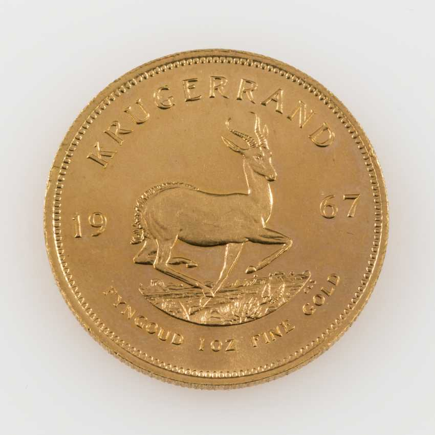 South Africa /GOLD - Krugerrands 1. Born in 1967, - photo 1