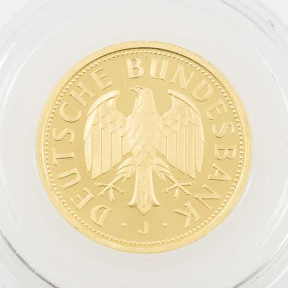 BRD /GOLD - 1 Deutsche Mark 2001 J, - photo 2