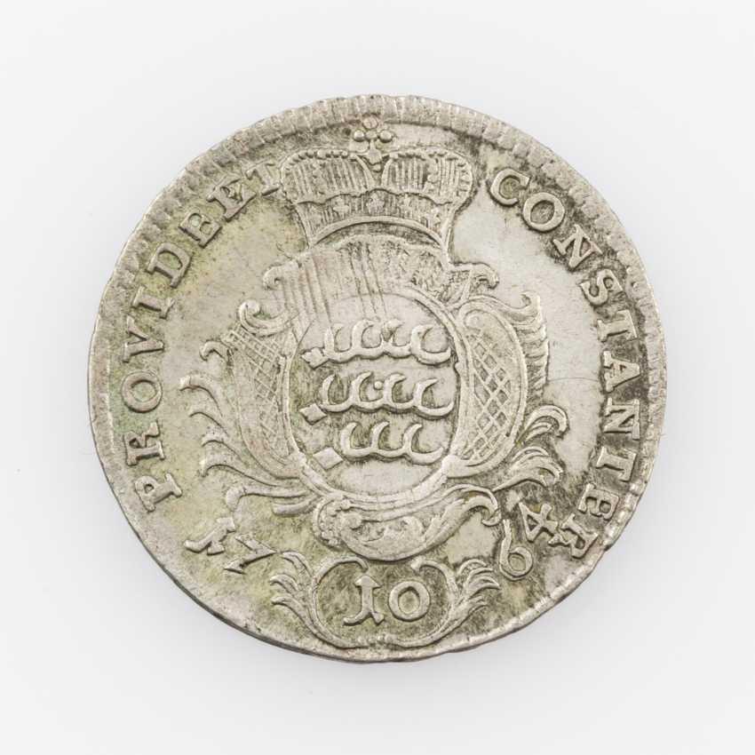 Württemberg 10 Kreuzer 1764, Karl Eugen, - photo 2