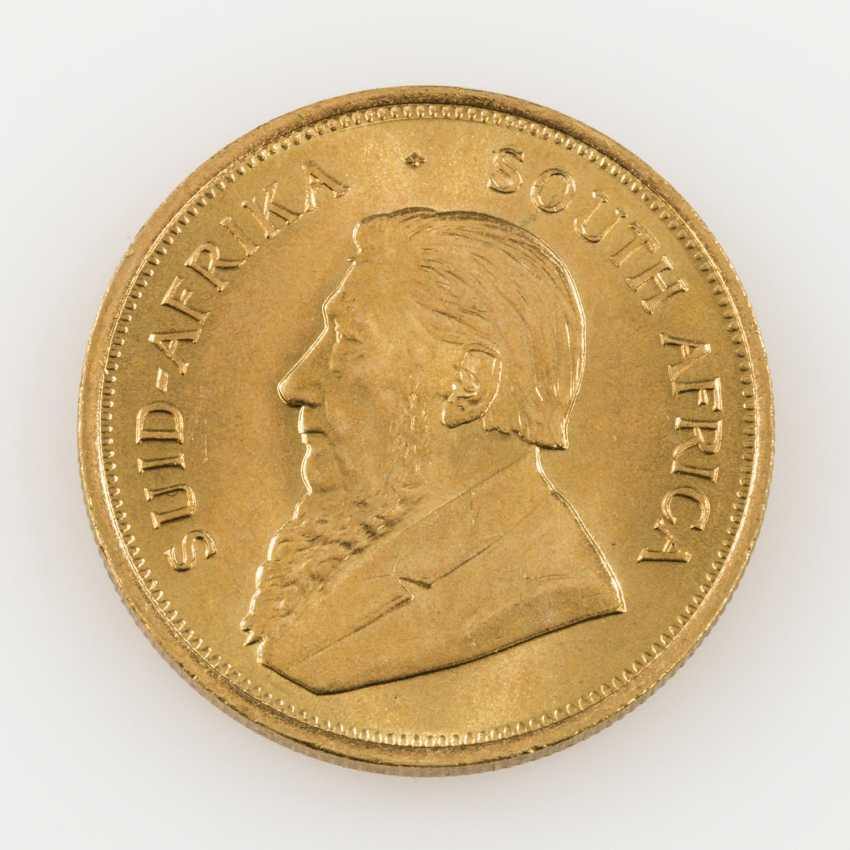 South Africa GOLD 1 oz Krugerrand 1972, - photo 1