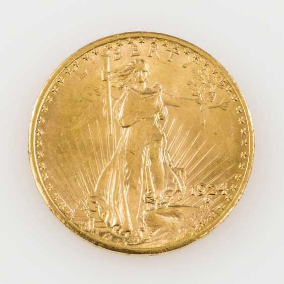 USA /GOLD - 20 Dollars 1924, Liberty Statue, - photo 1