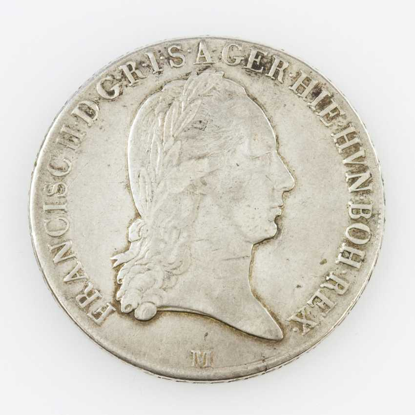 Roman-German Empire - Franz II 1792-1806-(1835), crown Thaler 1796 M, - photo 1