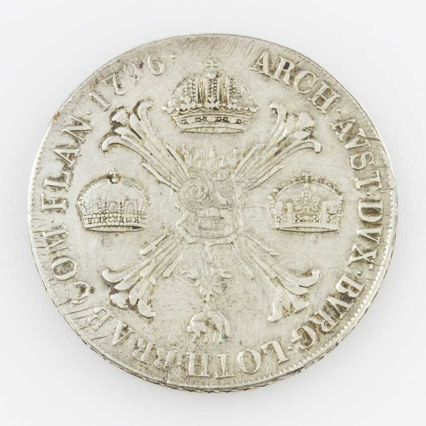 Roman-German Empire - Franz II 1792-1806-(1835), crown Thaler 1796 M, - photo 2