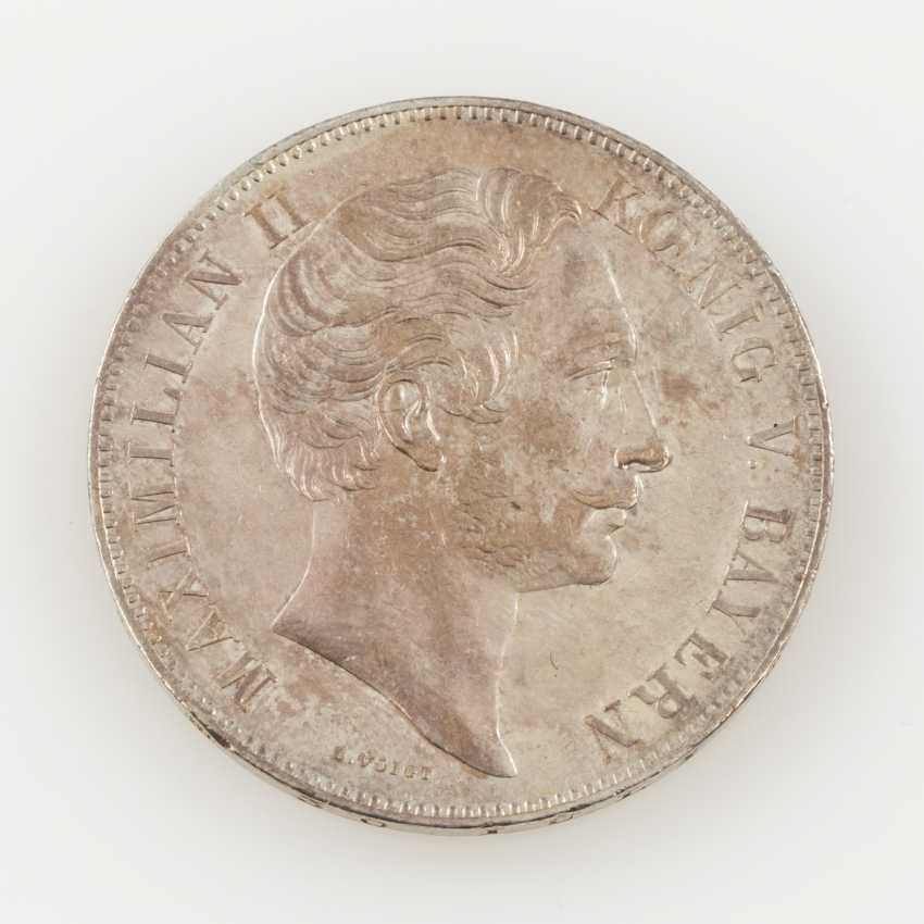 Bavaria - Maximilian II., 1848-1864. Club double Taler 1851. - photo 1