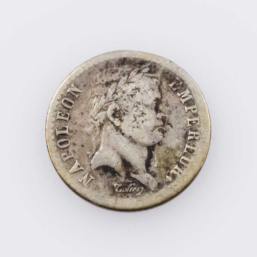 France, Napoleon, - 1 /2 Francs 1811 W (Lille), - photo 1