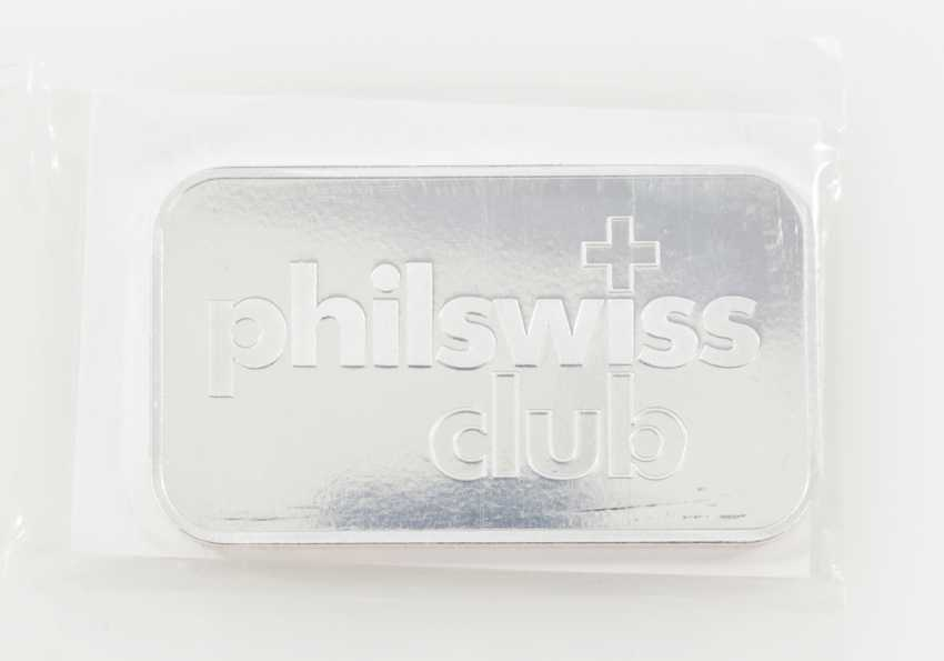 Silver Bullion 1 Oz, Philaswiss, - photo 1