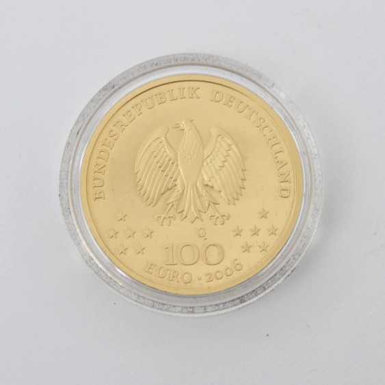 BRD GOLD 100 Euro 2006 G, Weimar, - photo 1