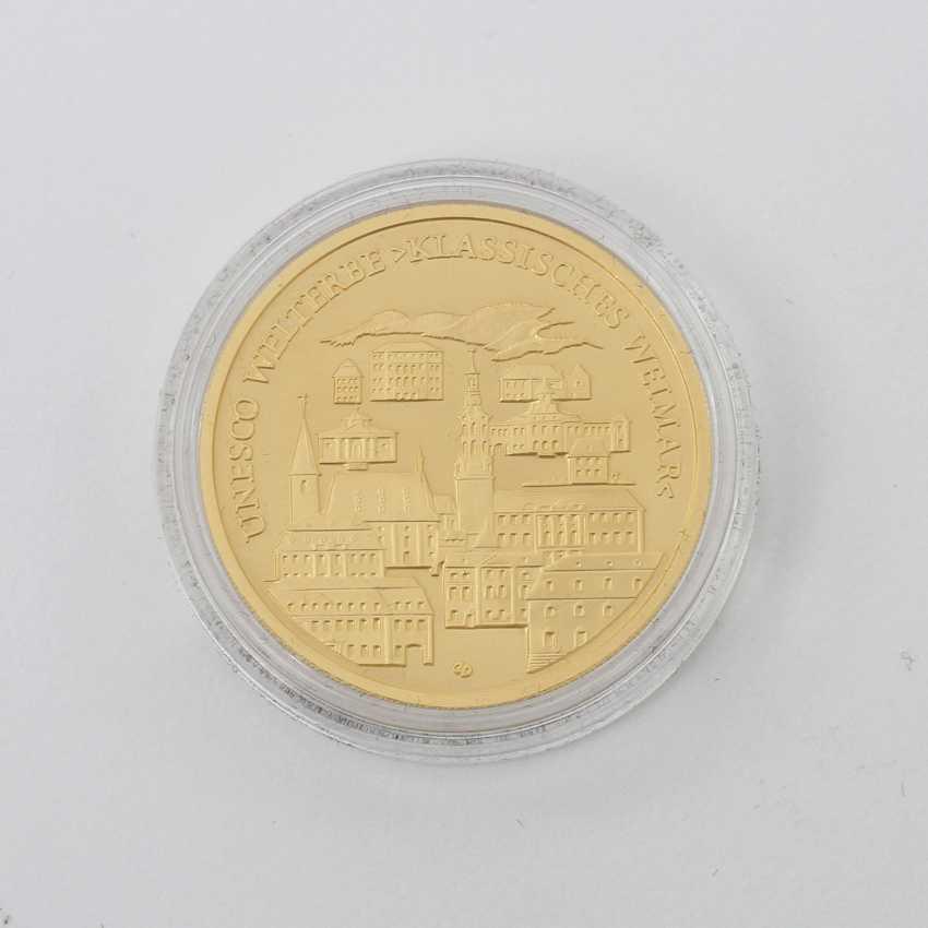 BRD GOLD 100 Euro 2006 G, Weimar, - photo 2