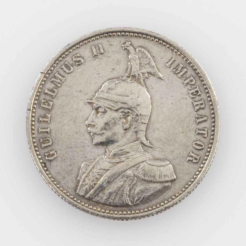 German East Africa - 1 rupee 1891, Guilelmus II, ss.-, - photo 2